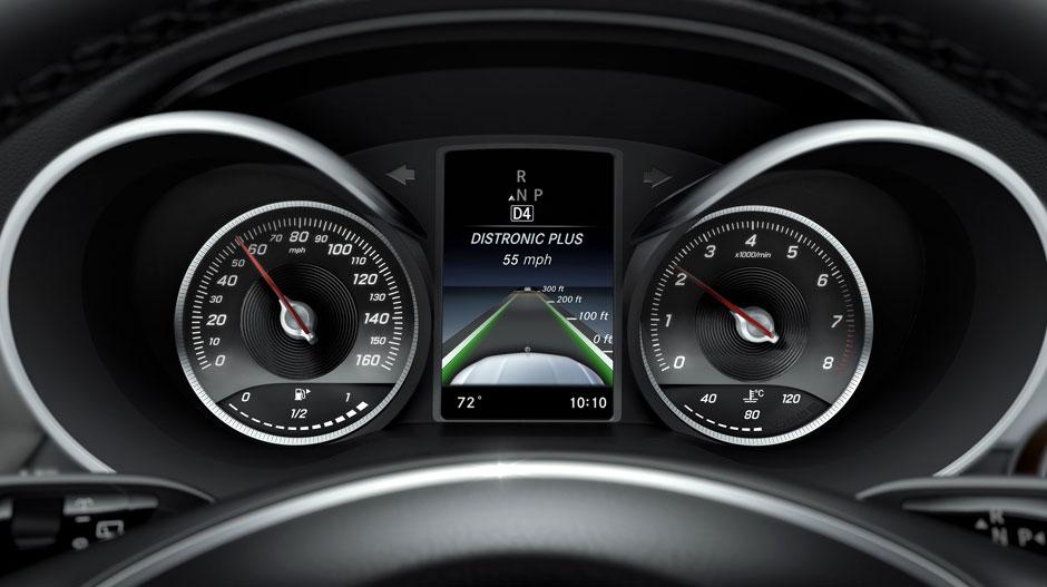 2016 Mercedes-Benz GLC-Class technology