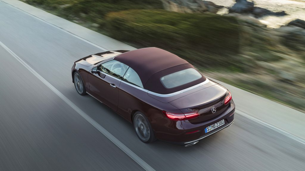 The All New 2018 Mercedes Benz E Class Cabriolet Coming